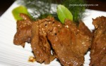 resep ungkep daging sapi masakan Jawa