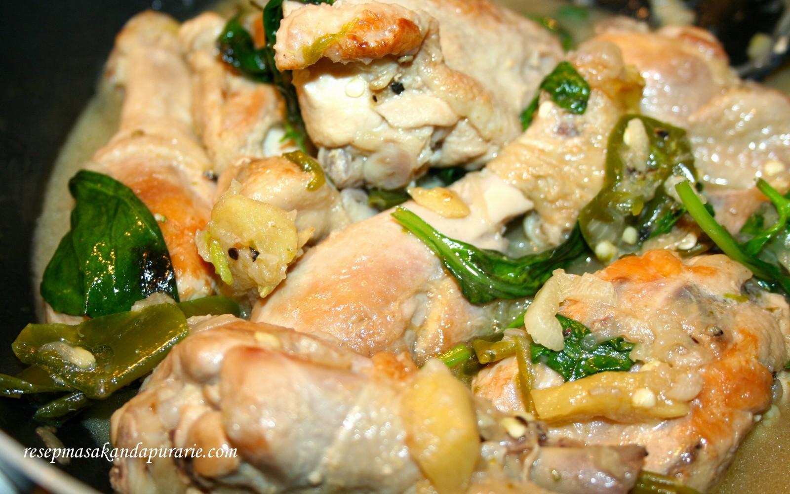 Resep Ayam Kemangi ala Bu Icha - Resep Masakan Dapur Arie