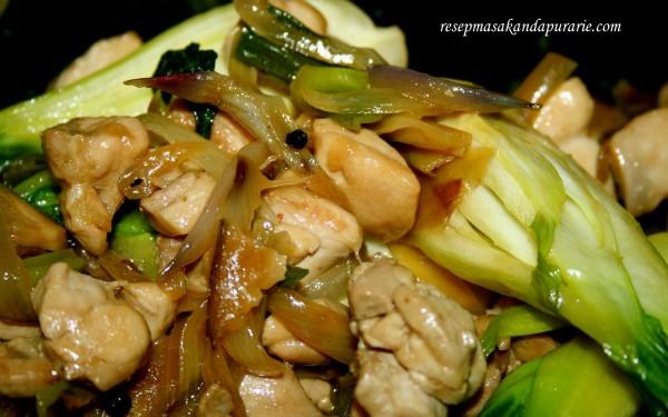resep tumis ayam jamur shiitake mudah resep masakan dapur arie Resepi Nasi Minyak Tanpa Minyak Sapi Enak dan Mudah