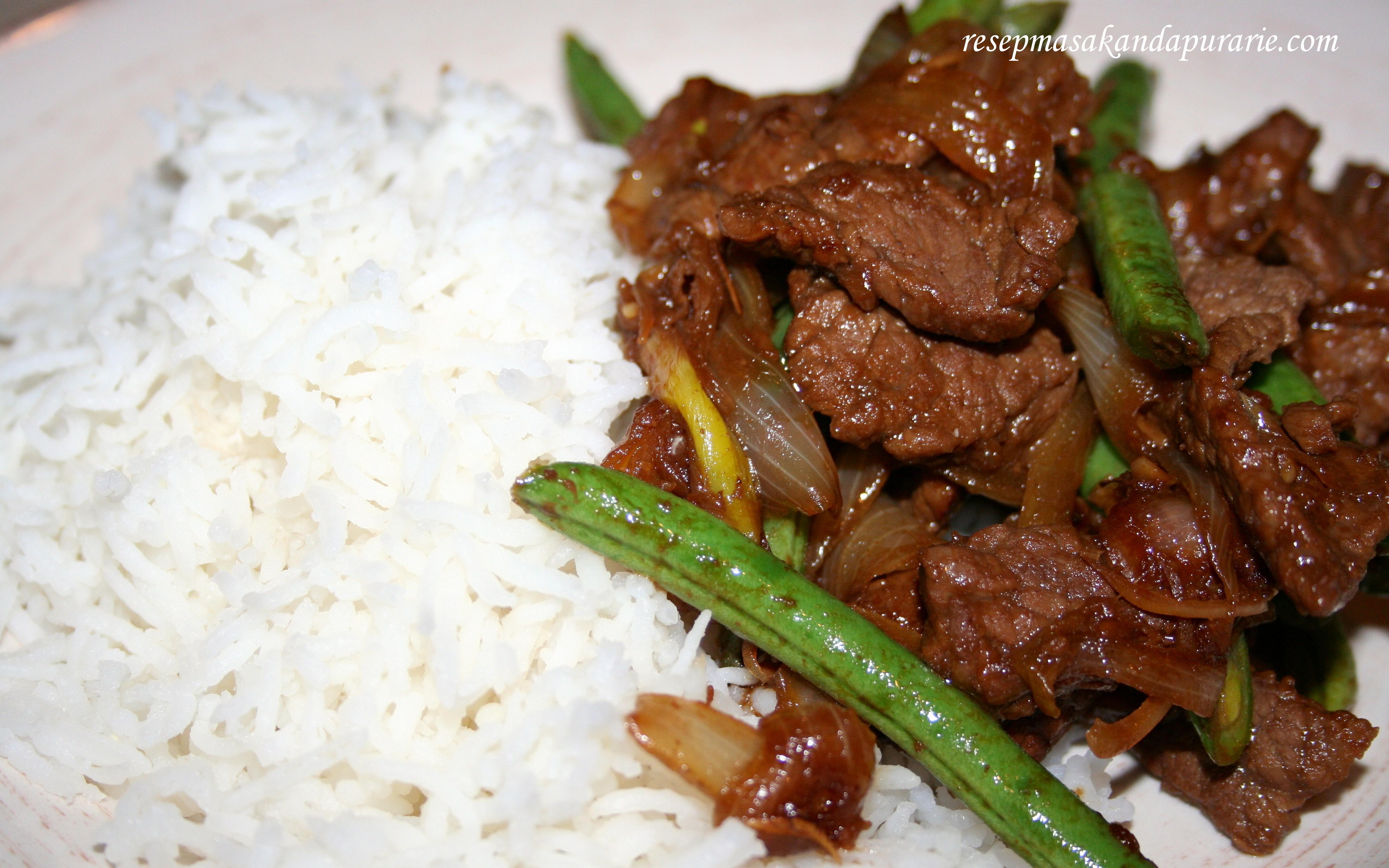 Resep Cara Membuat Daging Sapi Bumbu Serai Resep Masakan