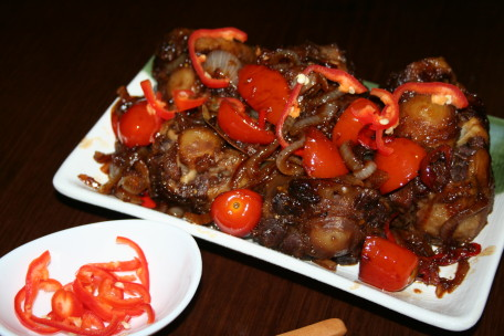 Buntut Sapi Tumis Pedas Recipe - Resep Masakan Dapur Arie