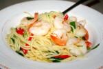 Resep Cara Membuat Spaghetti Udang Pedas