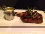 Rib Eye steak at Blue Ox