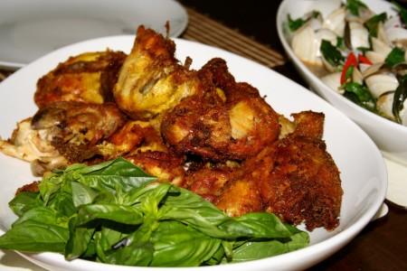 resep cara membuat ayam goreng bumbu kuning   resep