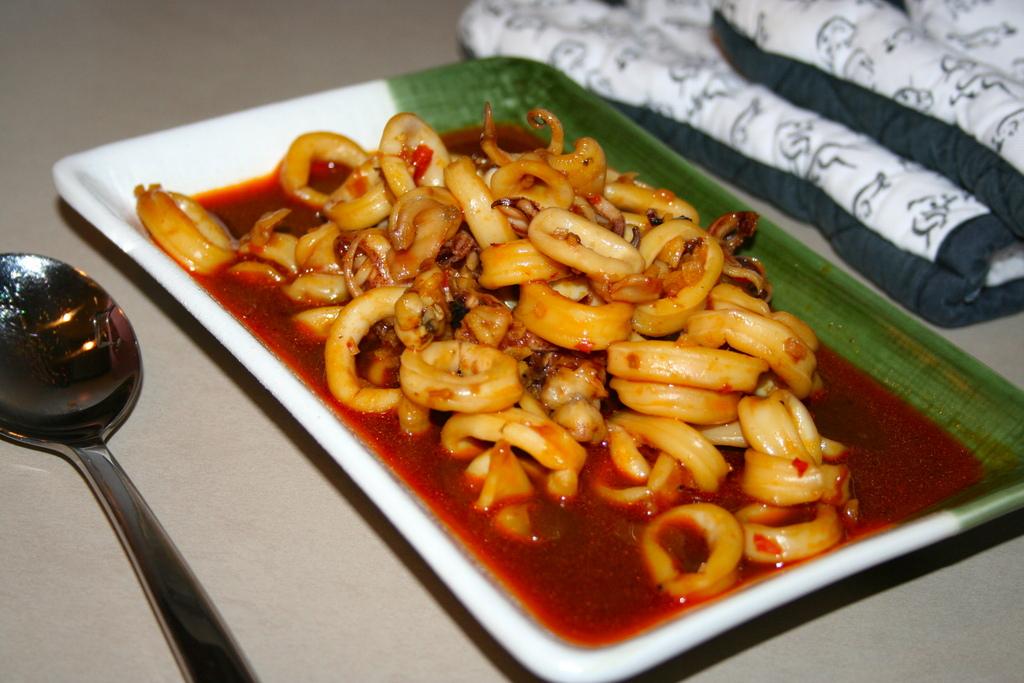 Resep Cumi Kecap Pedas - Resep Masakan Dapur Arie