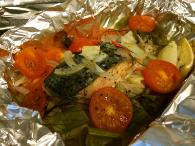 Resep Ikan Salmon Panggang Bungkus Foil Resep Masakan Dapur Arie