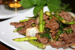 Resep Tumis Daging Sapi Asparagus