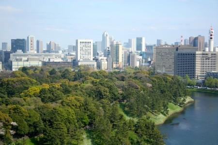 Chiyoda Park from Grand Arc Hanzomon