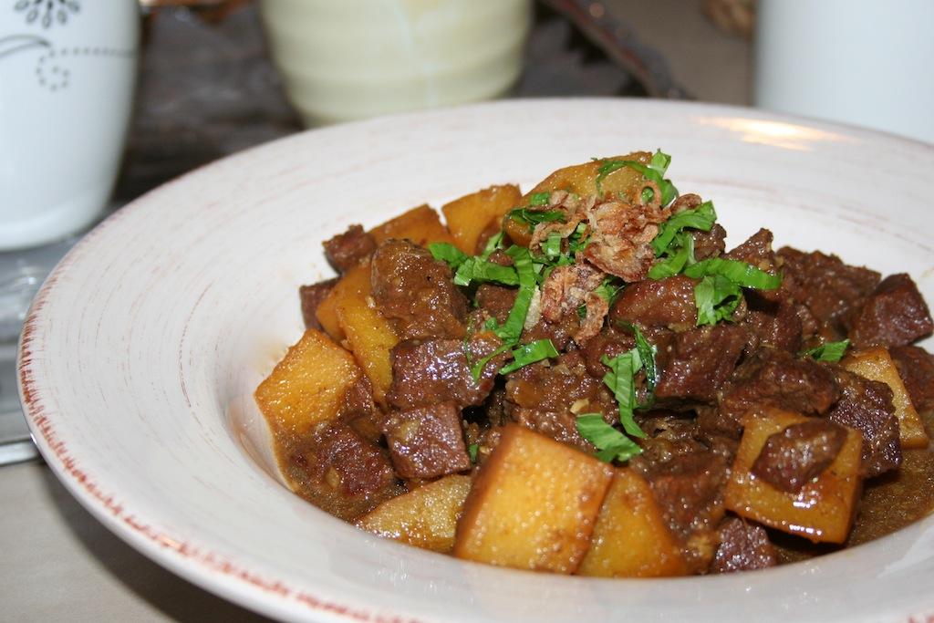 Resep Semur Daging Kentang Manis - Resep Masakan Dapur Arie