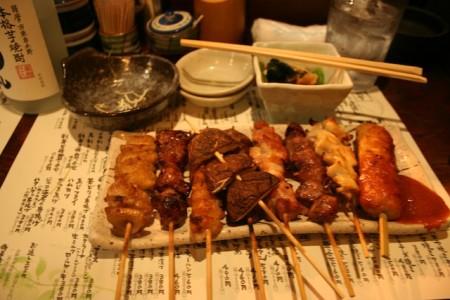 Sate ayam ala Jepang Yakitori