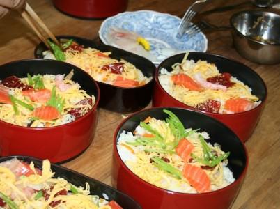 cara membuat nasi untuk sushi