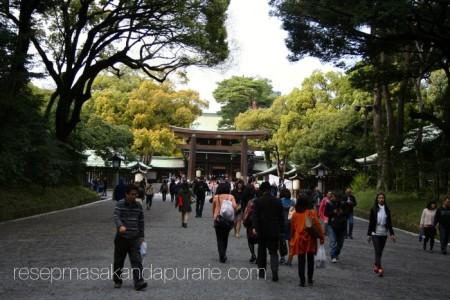 Kuil Meiji di Yoyogi Park