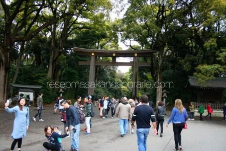 Pintu gerbang Yoyogi Park