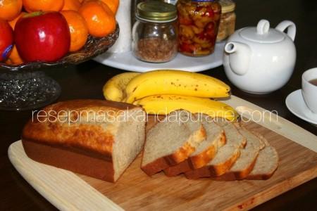 Resep Mudah Banana Cake