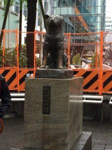 Anjing Hachiko Tokyo Jepang Shibuya