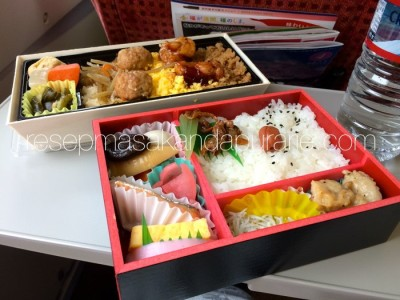 Makan Bento Box di Shinkansen