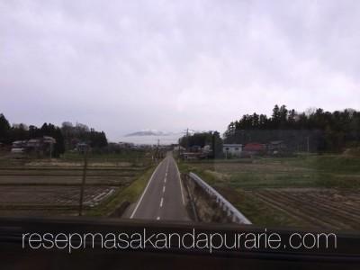 Perjalanan ke Fukushima Jepang dengan Shinkansen