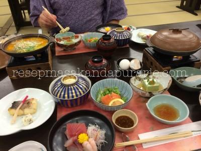4 Hari Wisata Di Hakone (bagian 1) - Edisi Liburan di Jepang Day 8 to 11. Menu makanan di Ryokan - Hakone Jepang