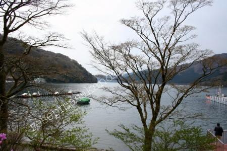 Danau dekat terminal Togendai